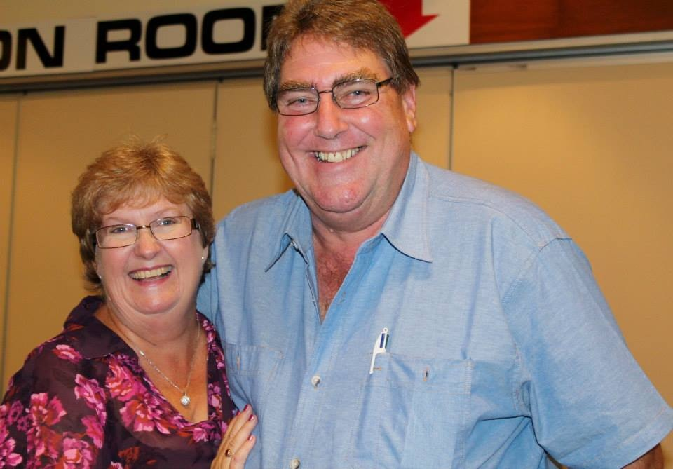 Donna and Barry Parker - owners of B&D Hydraulic Power